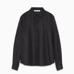 🔥MOVING SALE🔥New Zara LIMITED EDITION WOOL TOP